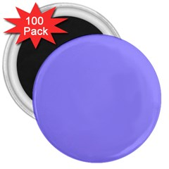 Neon Color   Light Persian Blue 3  Magnets (100 Pack) by tarastyle