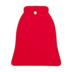 Neon Color   Luminous Vivid Crimson Ornament (bell) by tarastyle