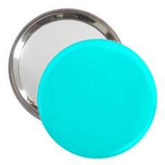 Neon Color   Luminous Vivid Cyan 3  Handbag Mirrors by tarastyle