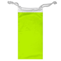 Neon Color   Luminous Vivid Lime Green Jewelry Bag by tarastyle