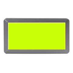 Neon Color   Luminous Vivid Lime Green Memory Card Reader (mini) by tarastyle