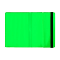 Neon Color   Luminous Vivid Malachite Green Apple Ipad Mini Flip Case by tarastyle