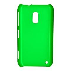 Neon Color   Luminous Vivid Malachite Green Nokia Lumia 620 by tarastyle