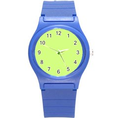Neon Color   Very Light Spring Bud Round Plastic Sport Watch (s) by tarastyle