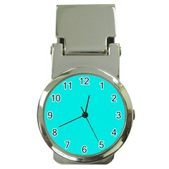 Neon Color   Vivid Cyan Money Clip Watches by tarastyle