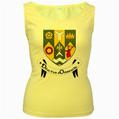 County Clare Coat of Arms Women s Yellow Tank Top by abbeyz71