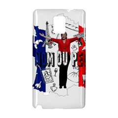 Marine Le Pen Samsung Galaxy Note 4 Hardshell Case by Valentinaart