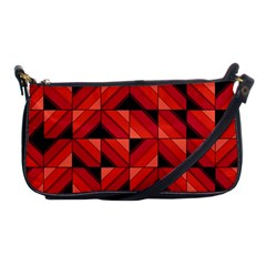 Fake Wood Pattern Shoulder Clutch Bags by linceazul