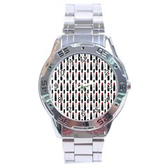 Makeup Stainless Steel Analogue Watch by Valentinaart