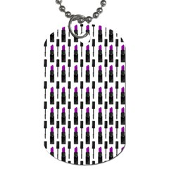 Makeup Dog Tag (one Side) by Valentinaart