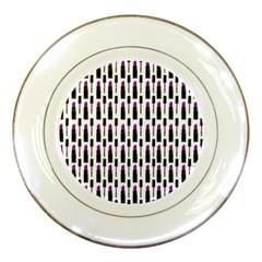 Makeup Porcelain Plates by Valentinaart