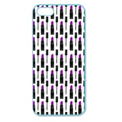 Makeup Apple Seamless Iphone 5 Case (color) by Valentinaart