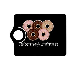 Five Donuts In One Minute  Kindle Fire Hd (2013) Flip 360 Case by Valentinaart