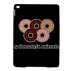 Five Donuts In One Minute  Ipad Air 2 Hardshell Cases by Valentinaart