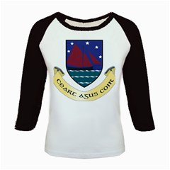 Coat of Arms of County Galway  Kids Baseball Jerseys