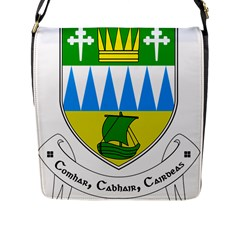 Coat Of Arms Of County Kerry Flap Messenger Bag (l)  by abbeyz71