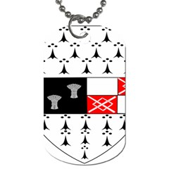 County Kilkenny Coat Of Arms Dog Tag (two Sides) by abbeyz71