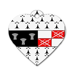 County Kilkenny Coat Of Arms Dog Tag Heart (two Sides) by abbeyz71