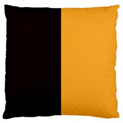 Flag Of County Kilkenny Large Flano Cushion Case (one Side) by abbeyz71
