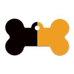 Flag Of County Kilkenny Dog Tag Bone (one Side) by abbeyz71