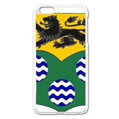 County Leitrim Coat Of Arms Apple Iphone 6 Plus/6s Plus Enamel White Case by abbeyz71
