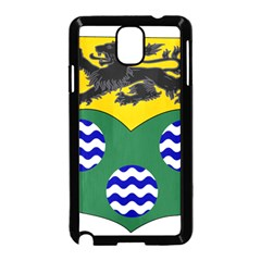 County Leitrim Coat Of Arms  Samsung Galaxy Note 3 Neo Hardshell Case (black) by abbeyz71