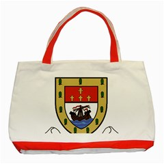 County Mayo Coat Of Arms Classic Tote Bag (red) by abbeyz71