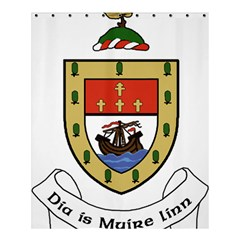 County Mayo Coat Of Arms Shower Curtain 60  X 72  (medium)  by abbeyz71