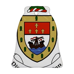 County Mayo Coat Of Arms Bell Ornament (two Sides) by abbeyz71