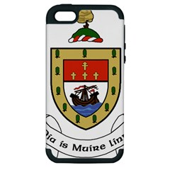County Mayo Coat Of Arms Apple Iphone 5 Hardshell Case (pc+silicone) by abbeyz71