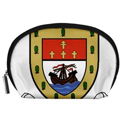County Mayo Coat Of Arms Accessory Pouches (large)  by abbeyz71