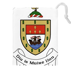 County Mayo Coat Of Arms Drawstring Pouches (xxl) by abbeyz71