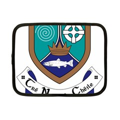 County Meath Coat Of Arms Netbook Case (small)  by abbeyz71