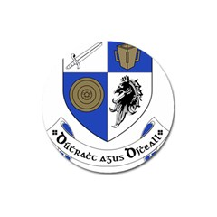 County Monaghan Coat Of Arms  Magnet 3  (round) by abbeyz71