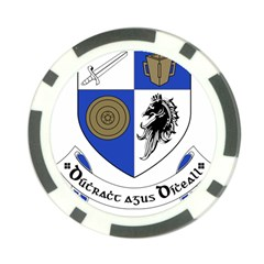 County Monaghan Coat Of Arms Poker Chip Card Guard by abbeyz71