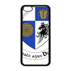 County Monaghan Coat Of Arms Apple Iphone 5c Seamless Case (black) by abbeyz71