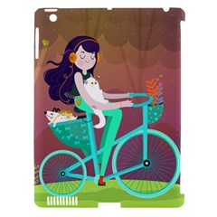 Bikeride Apple Ipad 3/4 Hardshell Case (compatible With Smart Cover) by Mjdaluz