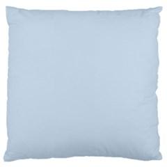 Pastel Color   Light Azureish Gray Large Cushion Case (two Sides) by tarastyle