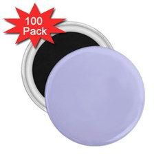 Pastel Color   Light Bluish Gray 2 25  Magnets (100 Pack)  by tarastyle