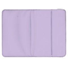 Pastel Color   Light Violetish Gray Samsung Galaxy Tab 7  P1000 Flip Case by tarastyle