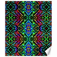 Glittering Kaleidoscope Mosaic Pattern Canvas 20  X 24   by Costasonlineshop