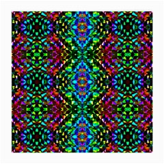 Glittering Kaleidoscope Mosaic Pattern Medium Glasses Cloth (2 Side) by Costasonlineshop
