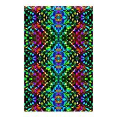 Glittering Kaleidoscope Mosaic Pattern Shower Curtain 48  X 72  (small)  by Costasonlineshop