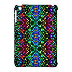 Glittering Kaleidoscope Mosaic Pattern Apple Ipad Mini Hardshell Case (compatible With Smart Cover) by Costasonlineshop