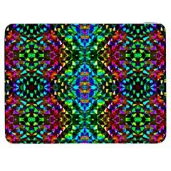 Glittering Kaleidoscope Mosaic Pattern Samsung Galaxy Tab 7  P1000 Flip Case by Costasonlineshop