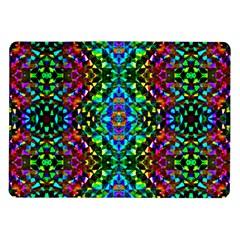 Glittering Kaleidoscope Mosaic Pattern Samsung Galaxy Tab 10 1  P7500 Flip Case by Costasonlineshop