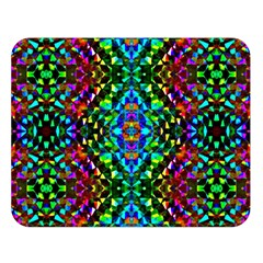 Glittering Kaleidoscope Mosaic Pattern Double Sided Flano Blanket (large)  by Costasonlineshop
