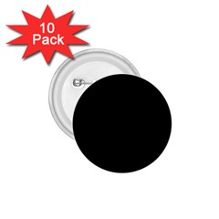 Black Gothic 1 75  Buttons (10 Pack) by Costasonlineshop