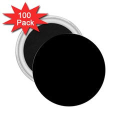 Black Gothic 2.25  Magnets (100 pack)  by Costasonlineshop
