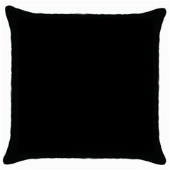 Black Gothic Throw Pillow Case (black) by Costasonlineshop